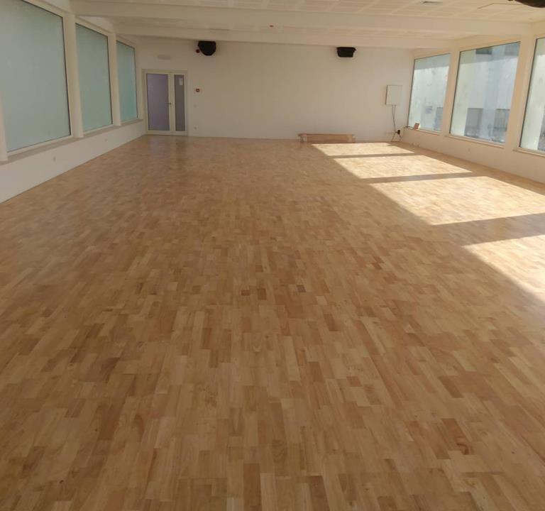 pavimento desportivo de madeira sobre inov4sports