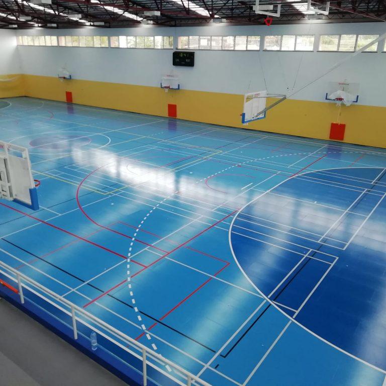 pavimento desportivo de interior sobre inov4sports