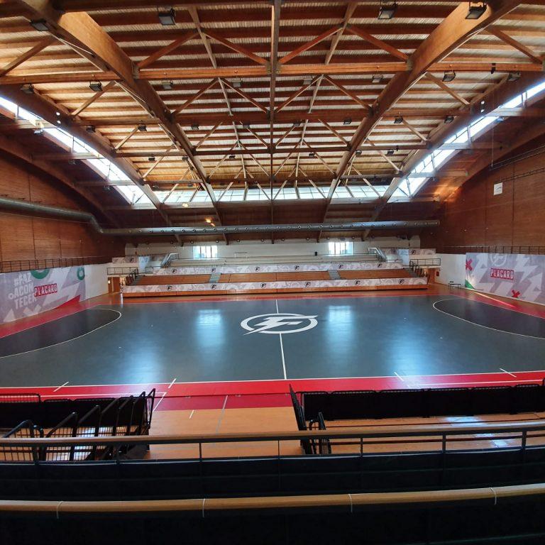 pavimento futsal competição sobre inov4sports
