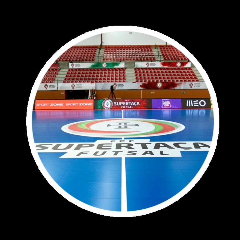 pavimento futsal competição supertaça inov4sports