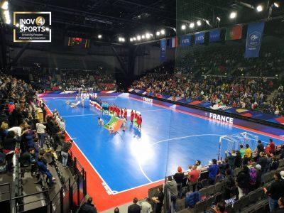 pavimento desportivo para futsal modular interior