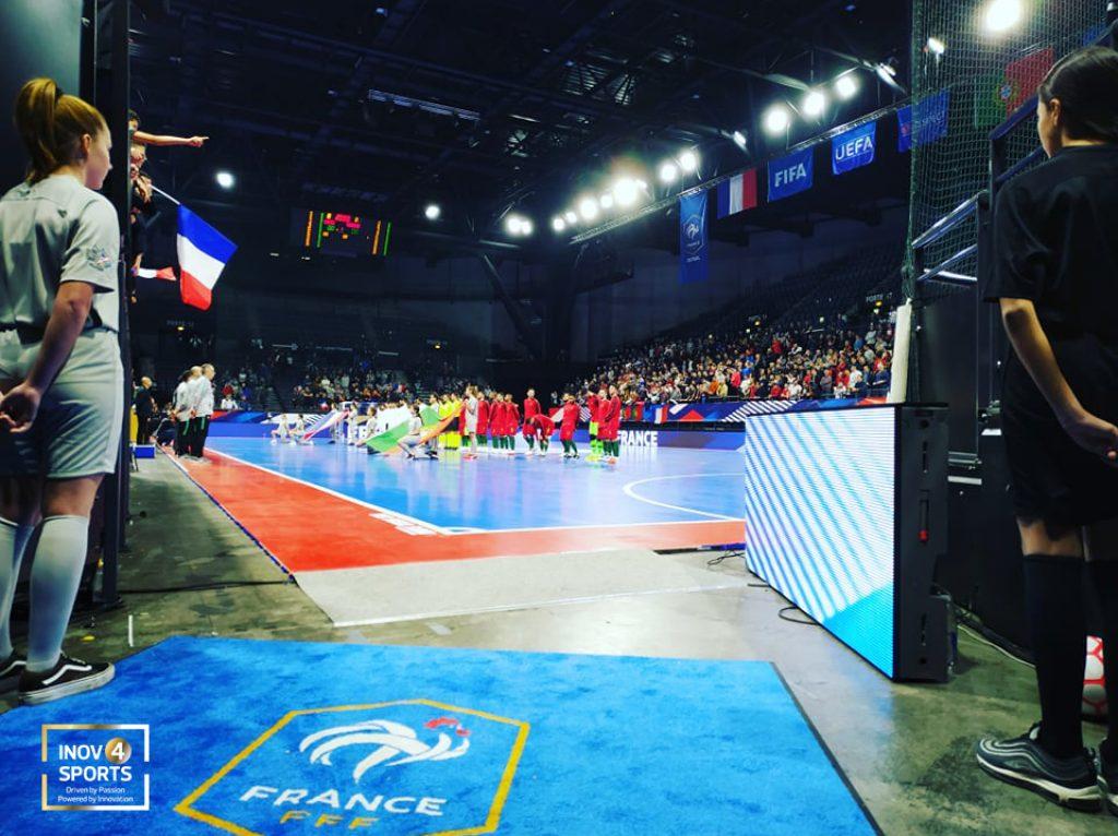 pavimento desportivo interior para futsal