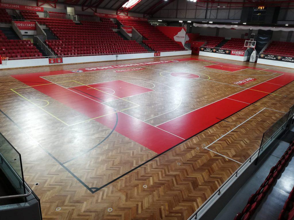 Piso desportivo SL Benfica