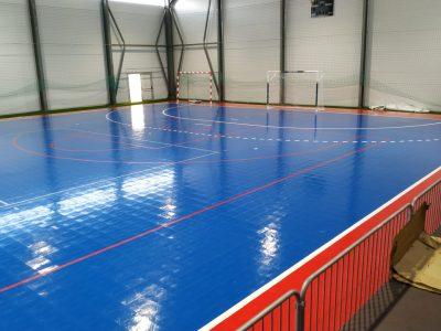 piso desportivo interior fixo
